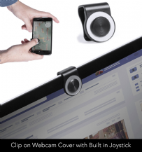 Webcam Cover with Built in Joystick